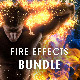 Fire Effects Bundle - Photoshop Actions - GraphicRiver Item for Sale
