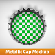 Metallic Cap Mockups - GraphicRiver Item for Sale