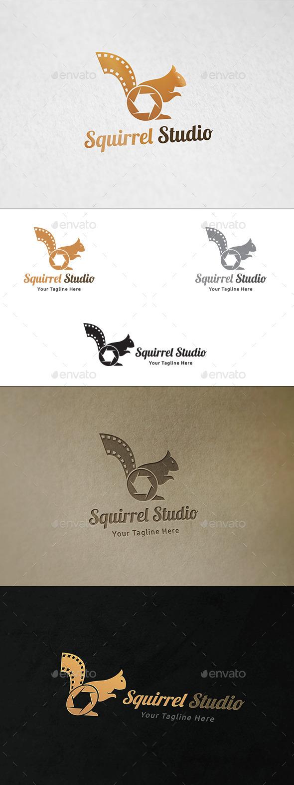 Squirrel Studio - Logo Template