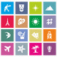 20 travel icons - GraphicRiver Item for Sale