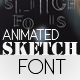 Sketch Font - VideoHive Item for Sale