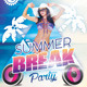 Summer Break Party - GraphicRiver Item for Sale