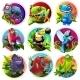 Cartoon Tropical Animals - GraphicRiver Item for Sale