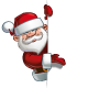Happy Santa - Empty Label - GraphicRiver Item for Sale