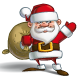 Happy Santa - Sack of Gifts - GraphicRiver Item for Sale