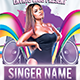 Guest Singer Flyer Template - GraphicRiver Item for Sale