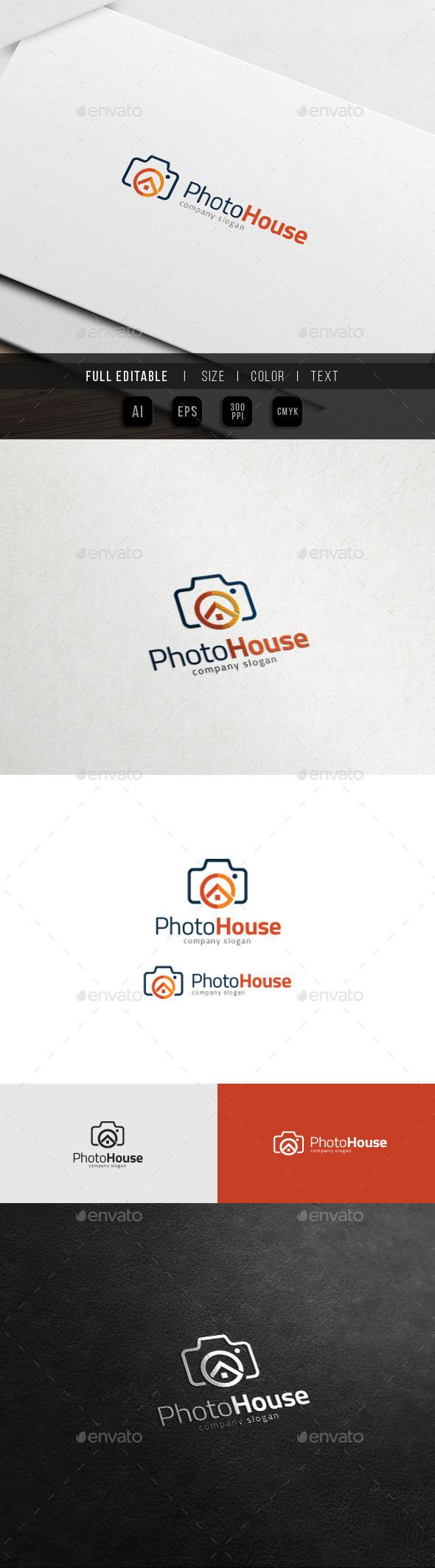 House of Camera - Photo Studio Logo