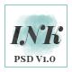 INK – Elegant Magazine Blog PSD Template - ThemeForest Item for Sale