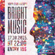 Bright Music Flyer Poster Template - GraphicRiver Item for Sale