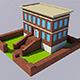 Low Poly School (Ready to Render) - 3DOcean Item for Sale