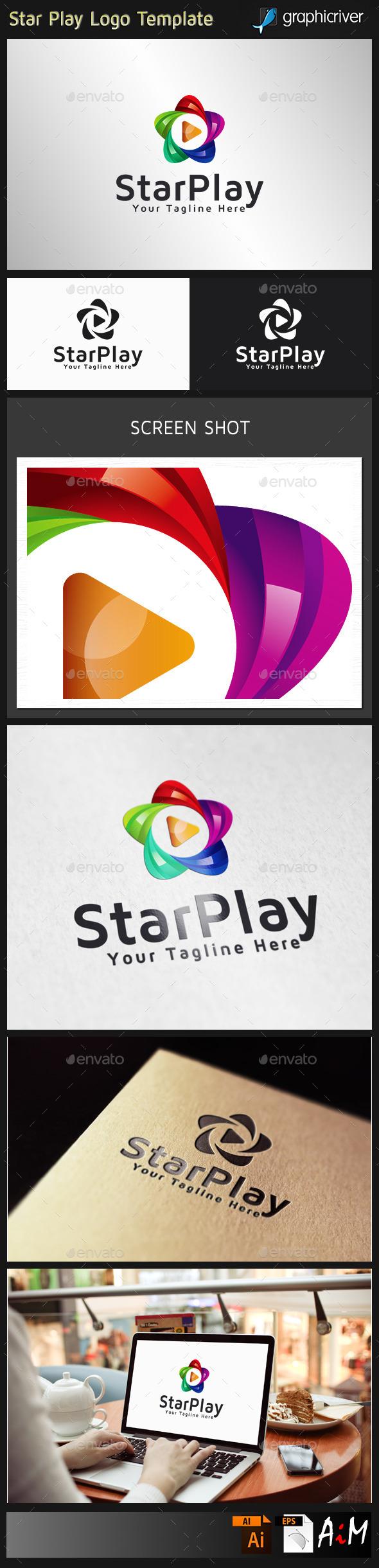 Star Play logo