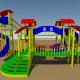 Playground Equipment - 3DOcean Item for Sale
