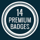 C.Kav - 14 Premium Vector Badges - GraphicRiver Item for Sale