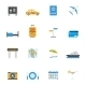 Travel and Tourism Icons - GraphicRiver Item for Sale
