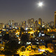 Moon Night in Vila Madalena - VideoHive Item for Sale