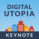 Digital Utopia Keynote Template - GraphicRiver Item for Sale