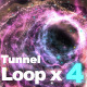 Particle Tunnel Loop - VideoHive Item for Sale