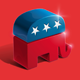 American Republican Party 3D Sign - GraphicRiver Item for Sale