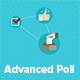 Advanced  Poll for WordPress - CodeCanyon Item for Sale
