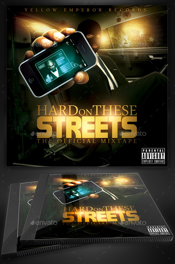 Mixtape Cover Graphics Designs Templates From Graphicriver