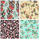 Seamless Floral Pattern Set - GraphicRiver Item for Sale