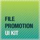 File Promotion UI Kit - GraphicRiver Item for Sale