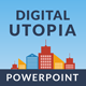 Digital Utopia PowerPoint Template - GraphicRiver Item for Sale