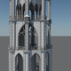 Gothic Bell Tower - 3DOcean Item for Sale