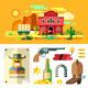 Wild West Landscape - GraphicRiver Item for Sale