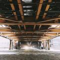 Under Chicago EL in Snowstorm - PhotoDune Item for Sale