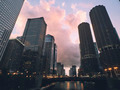 Chicago at Sunset  - PhotoDune Item for Sale