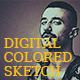 Digital Colored Sketch - GraphicRiver Item for Sale