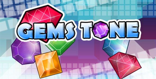 Gemstone - Tap 3 Dopasuj grę HTML5