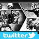 Twitter Photo Collage Header V4 - GraphicRiver Item for Sale