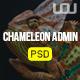 Chameleon Admin PSD Template - ThemeForest Item for Sale