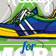 Hipster Graffiti Sneakers - GraphicRiver Item for Sale