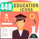 Education Flat Icon Pack - GraphicRiver Item for Sale