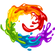 Vibrant LGBT Splashes - GraphicRiver Item for Sale