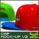 Baseball Cap - Embroidered Logo Mockup - GraphicRiver Item for Sale