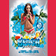 Beach Party (Flyer Template 4x6) - GraphicRiver Item for Sale