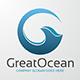 Great Ocean - Letter G Logo - GraphicRiver Item for Sale