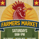 FARMERS MARKET Event Poster, Flyer or Ad - GraphicRiver Item for Sale