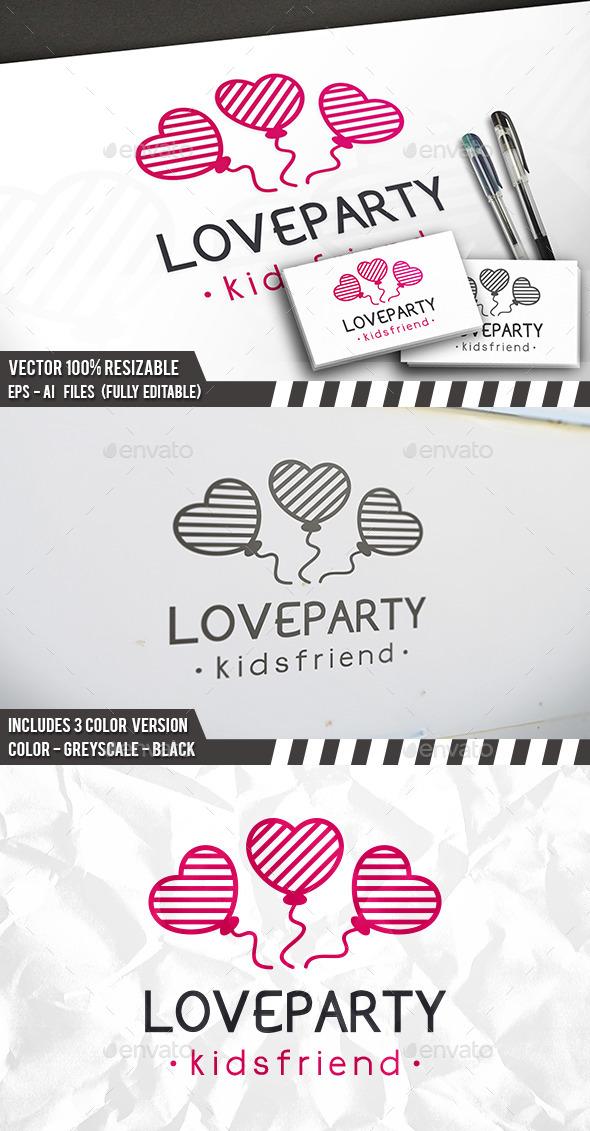Love Party Logo