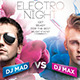 Dj Battle Party Flyer Template - GraphicRiver Item for Sale