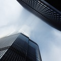 Looking up to skycrapers in Chicago - PhotoDune Item for Sale