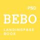 BEBO -  Book's Landingpage PSD - ThemeForest Item for Sale