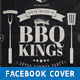 BBQ Kings - Vintage Barbecue Facebook Cover - GraphicRiver Item for Sale