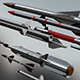 Pack Missile 3D Model - 3DOcean Item for Sale