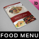 Restaurant Menu Template vol.2 - GraphicRiver Item for Sale