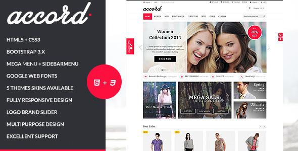 Accord - Responsive Multipurpose HTML5 Template